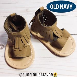 Baby Moccasin Sandals By Old Navy